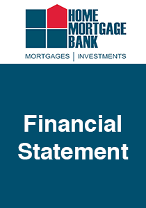 MPF Financial Statement - Home Mortgage Bank